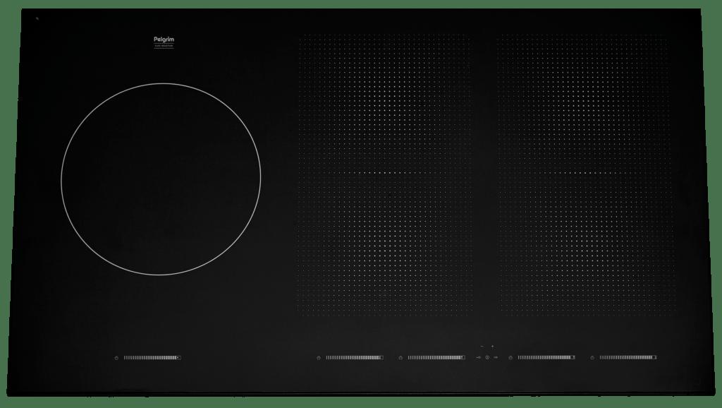 Inductiekookplaat Met Wokbrander : Pelgrim inductiekookplaat met flexzones interborg keukens middelburg